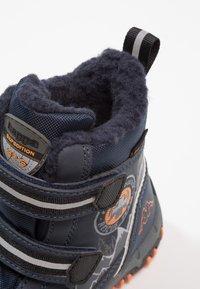 Kappa - RESCUE TEX - Zimní obuv - navy/orange - 2