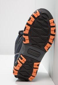 Kappa - RESCUE TEX - Stivali da neve  - navy/orange - 5