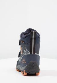 Kappa - RESCUE TEX - Zimní obuv - navy/orange - 4