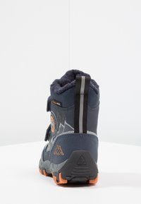 Kappa - RESCUE TEX - Stivali da neve  - navy/orange - 4