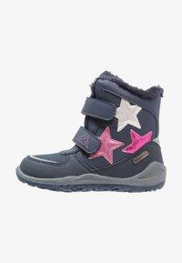 Kappa - GLITZY TEX - Stivali da neve  - navy/pink - 0