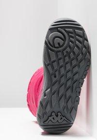 Kappa - WEAM TEX - Zimní obuv - pink/grey - 5