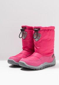 Kappa - WEAM TEX - Zimní obuv - pink/grey - 3