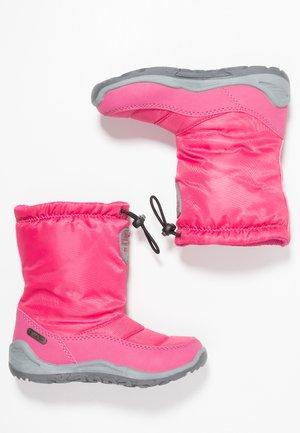 WEAM TEX - Zimní obuv - pink/grey