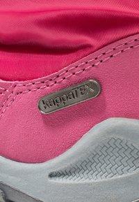 Kappa - WEAM TEX - Zimní obuv - pink/grey - 2