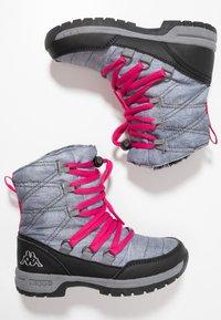 Kappa - SVEBERG - Stivali da neve  - ice/pink - 0