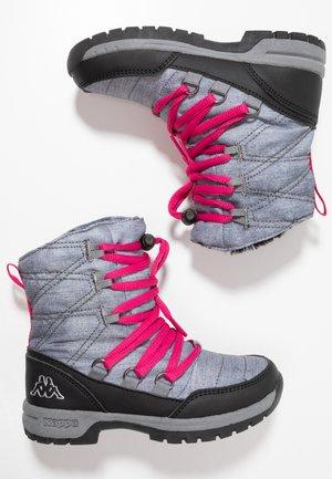 SVEBERG - Zimní obuv - ice/pink