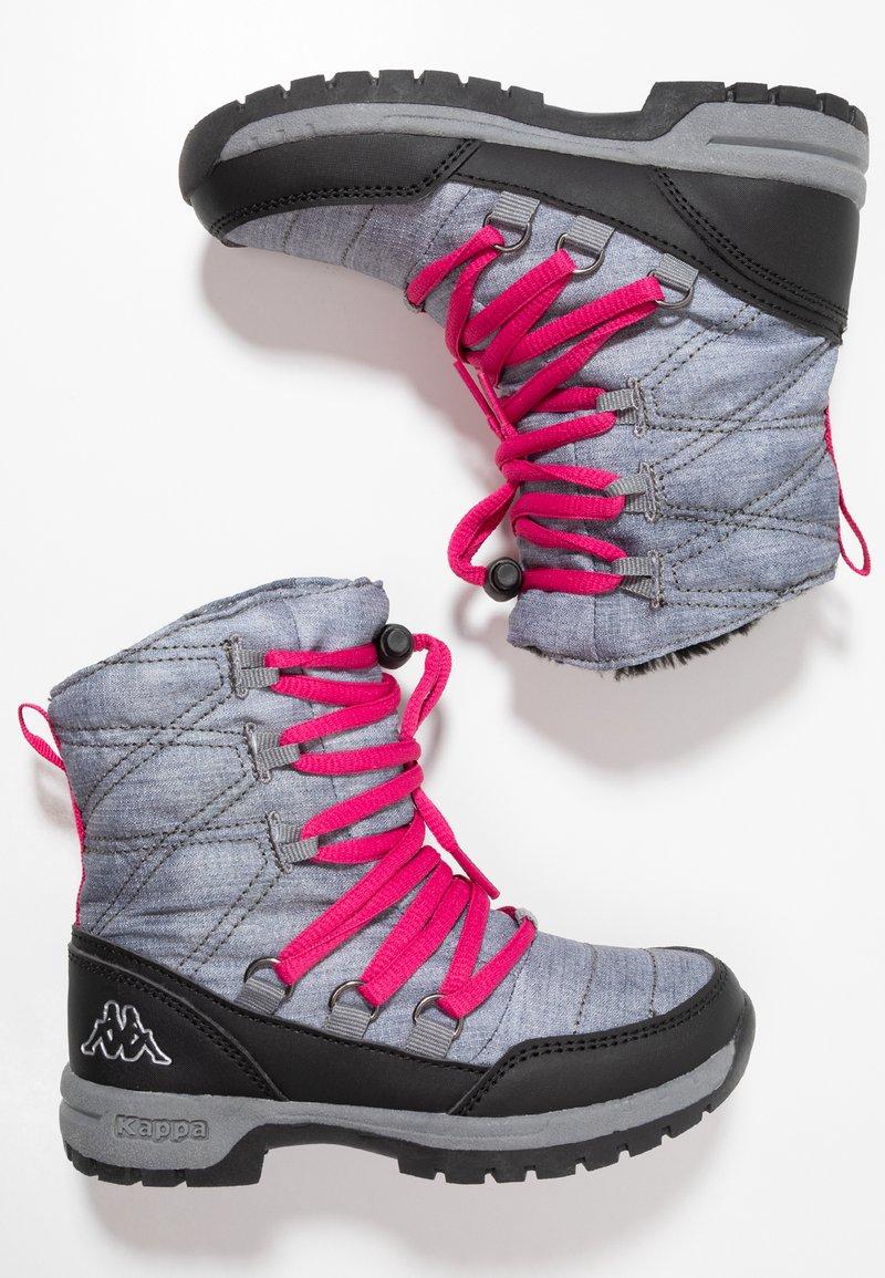Kappa - SVEBERG - Stivali da neve  - ice/pink
