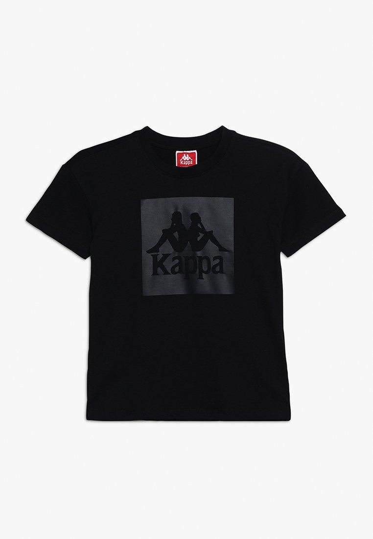 Kappa - EDWARD - T-Shirt print - black