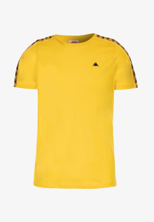 GRENNER - T-shirt print - sulphur