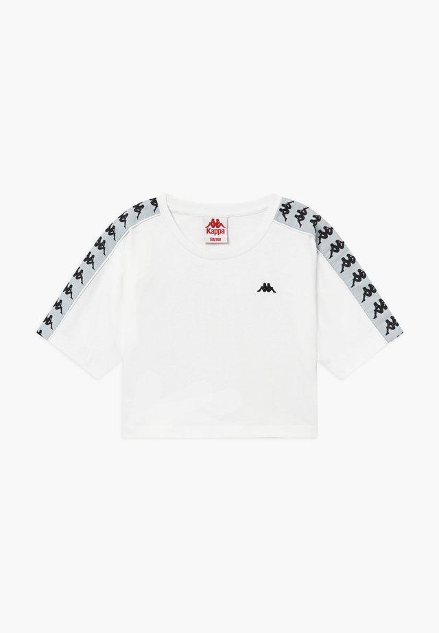 GLANDA - Camiseta estampada - bright white
