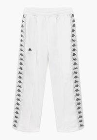 Kappa - GELANIA - Tracksuit bottoms - bright white - 0