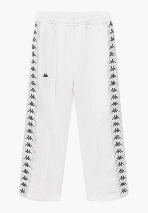 GELANIA - Tracksuit bottoms - bright white