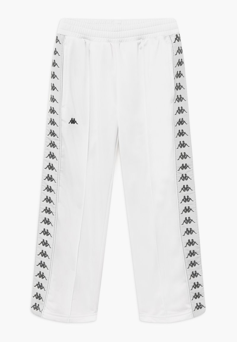 Kappa - GELANIA - Tracksuit bottoms - bright white
