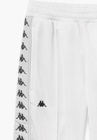 Kappa - GELANIA - Tracksuit bottoms - bright white - 3
