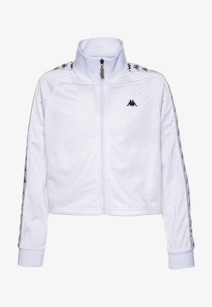 GEILLIS - Chaqueta de entrenamiento - bright white