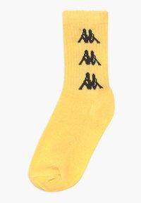 Kappa - VOULAR 7 PACK - Sportovní ponožky - black/ white/sulphur - 1