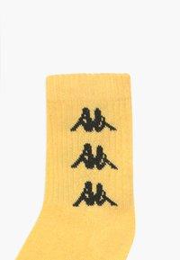 Kappa - VOULAR 7 PACK - Sportovní ponožky - black/ white/sulphur - 3