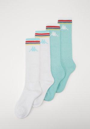 VOMIS 4 PACK - Sportovní ponožky - yucca