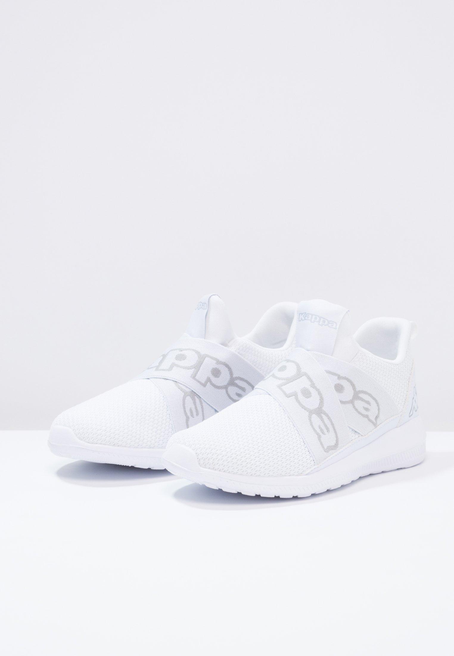 Kappa FASTER II - Obuwie treningowe - white/light grey