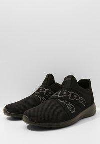 Kappa - FASTER II - Sportovní boty - black - 2