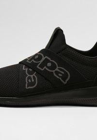 Kappa - FASTER II - Sportovní boty - black - 5