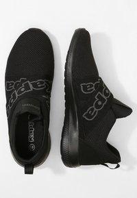Kappa - FASTER II - Sportovní boty - black - 1