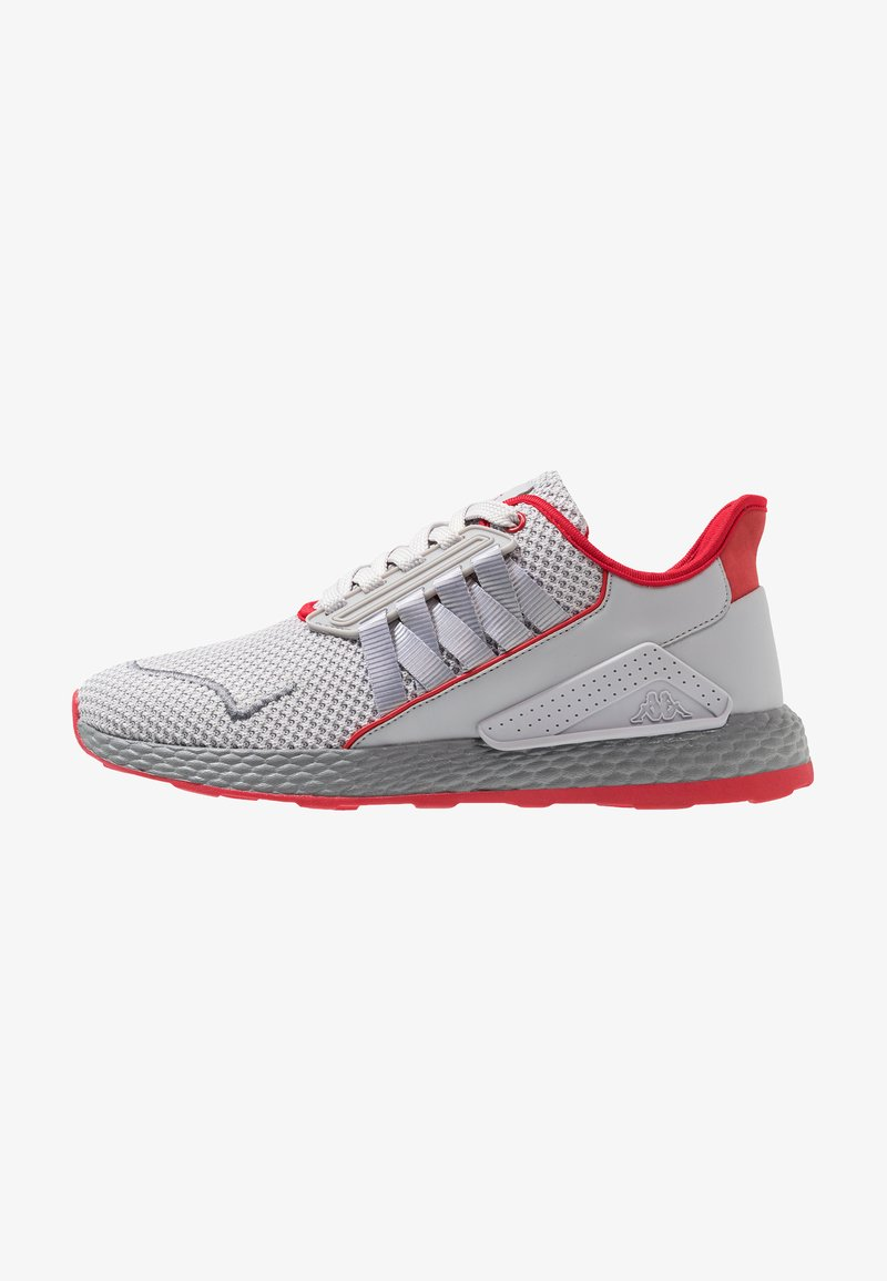 Kappa - INSPECTION - Sports shoes - lightgrey/red