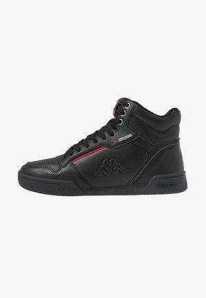 MANGAN - Zapatillas altas - black/red