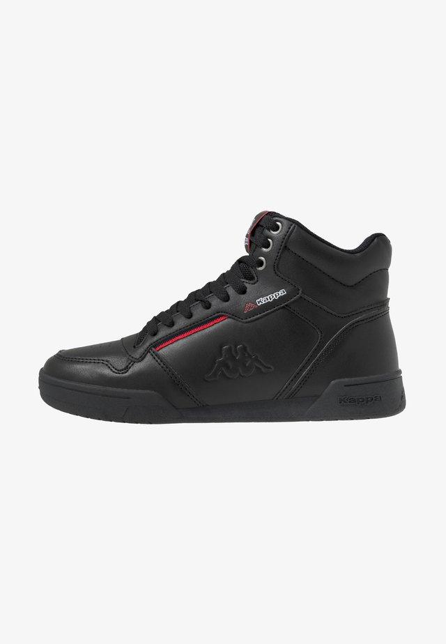 MANGAN - Sneakersy wysokie - black/red