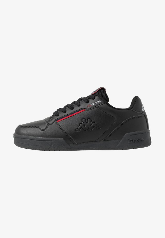 MARABU - Sneakers basse - black/red