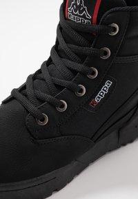 Kappa - BONFIRE - Zapatillas de senderismo - black - 5