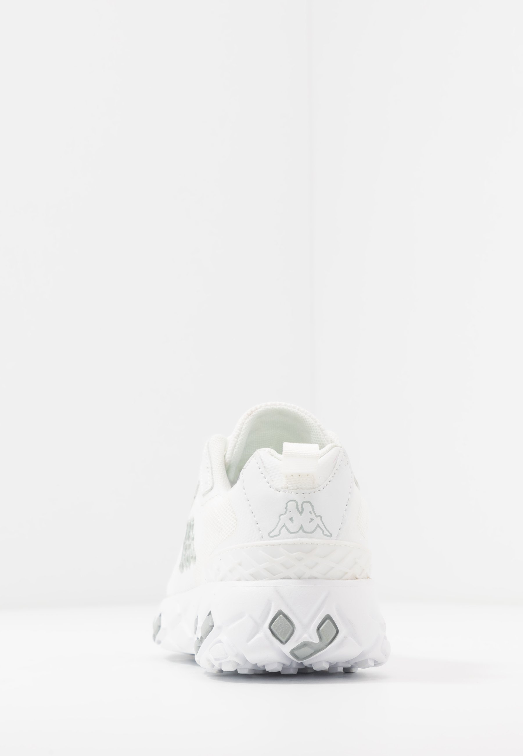 Kappa STRATUS - Neutrala löparskor - white/grey