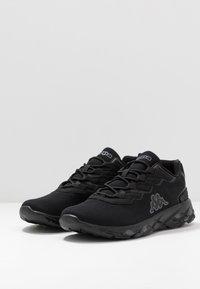 Kappa - STRATUS - Neutrální běžecké boty - black/grey - 2