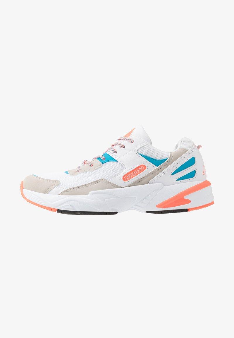 Kappa - BOIZ - Zapatillas de running neutras - white/orange
