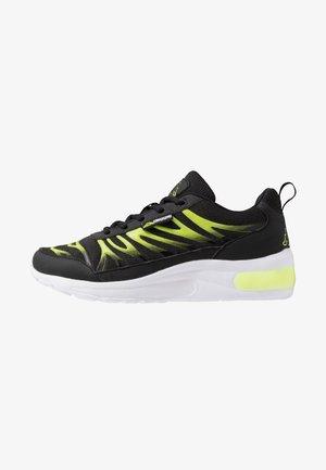 VARIKO - Neutrální běžecké boty - black/lime