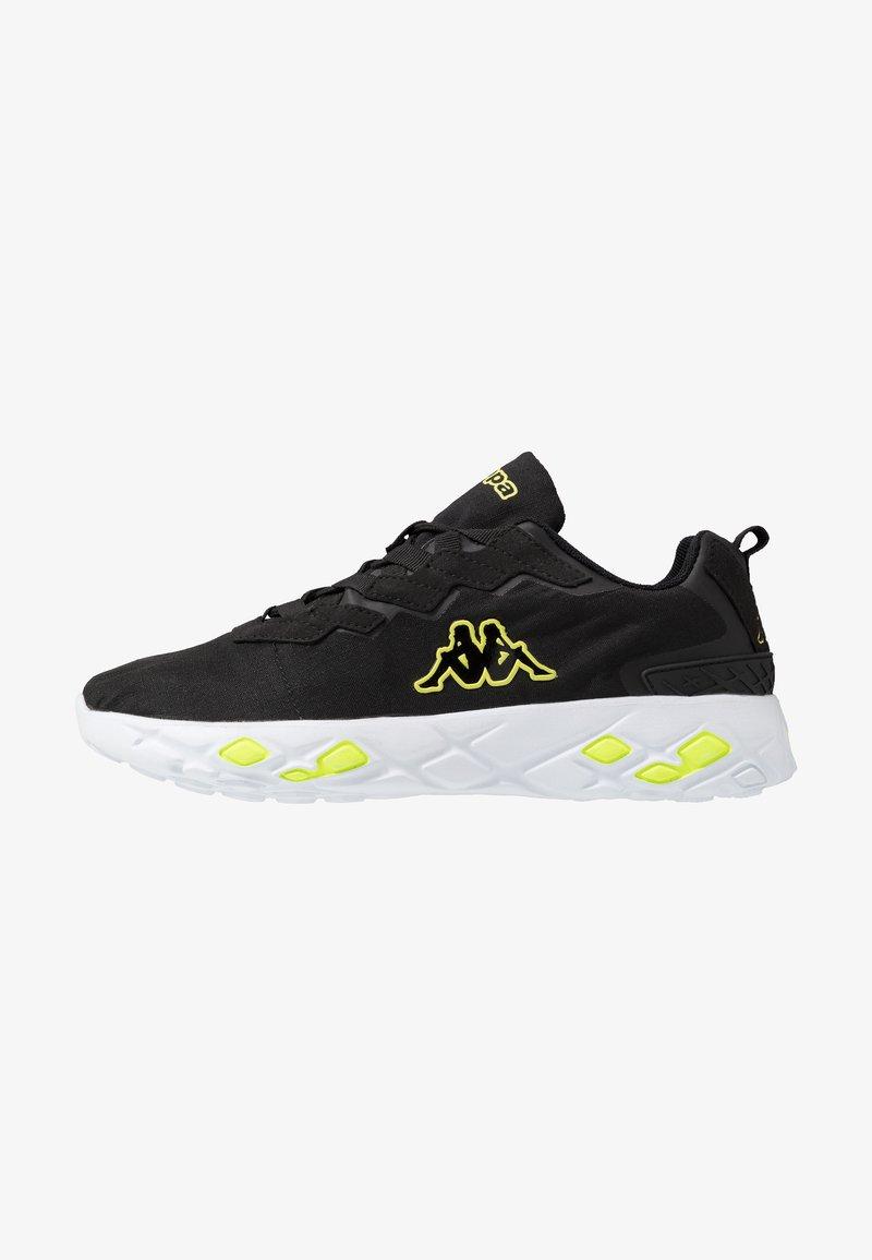 Kappa - STRATUS  - Zapatillas de running neutras - black/yellow