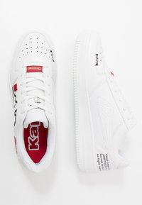 Kappa - BASH OL - Scarpe da fitness - white/black - 1