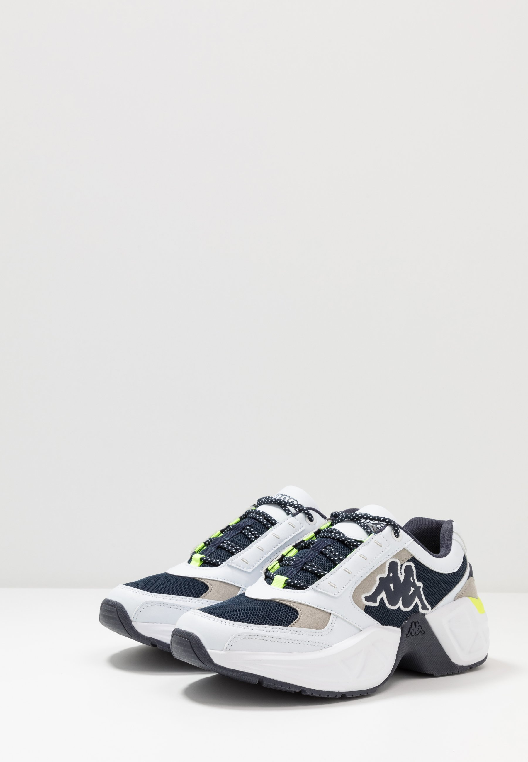 Kappa KRYPTON - Zapatillas de entrenamiento - white/navy