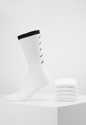 EVERT 6 PACK - Sportsocken - white
