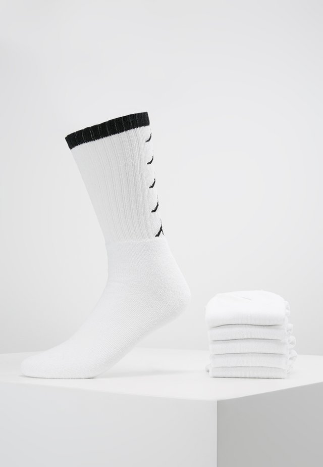 EVERT 6 PACK - Calcetines de deporte - white