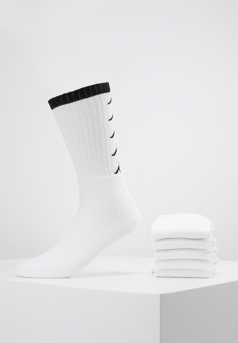 Kappa - EVERT 6 PACK - Träningssockor - white