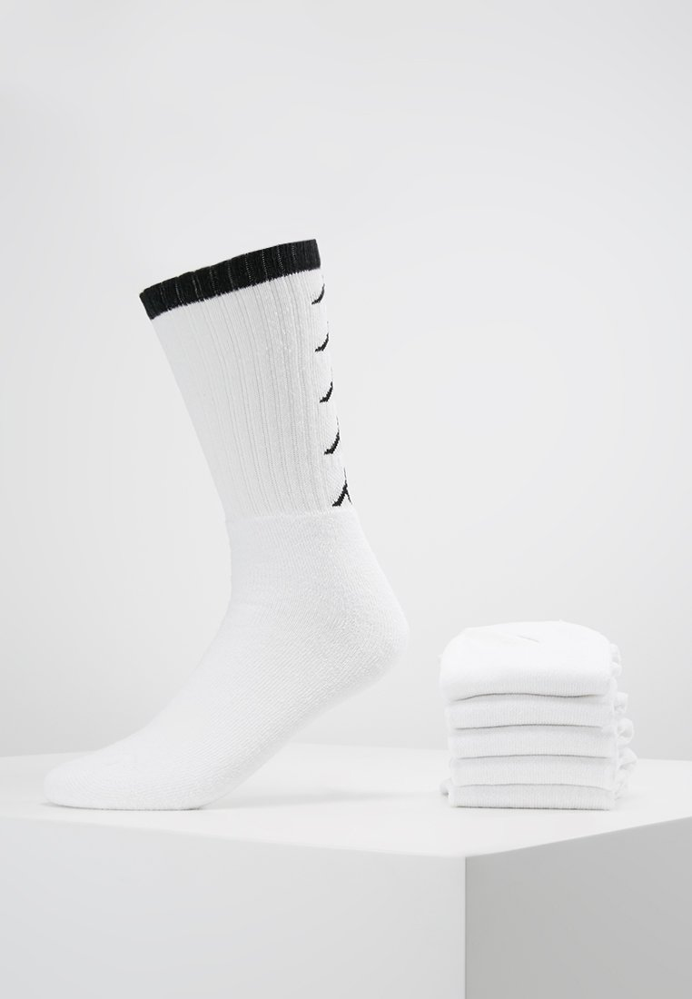 Kappa - EVERT 6 PACK - Sportsocken - white