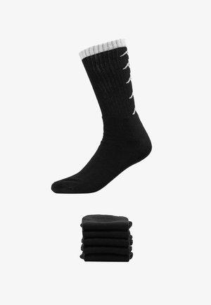 EVERT 6 PACK - Chaussettes de sport - black