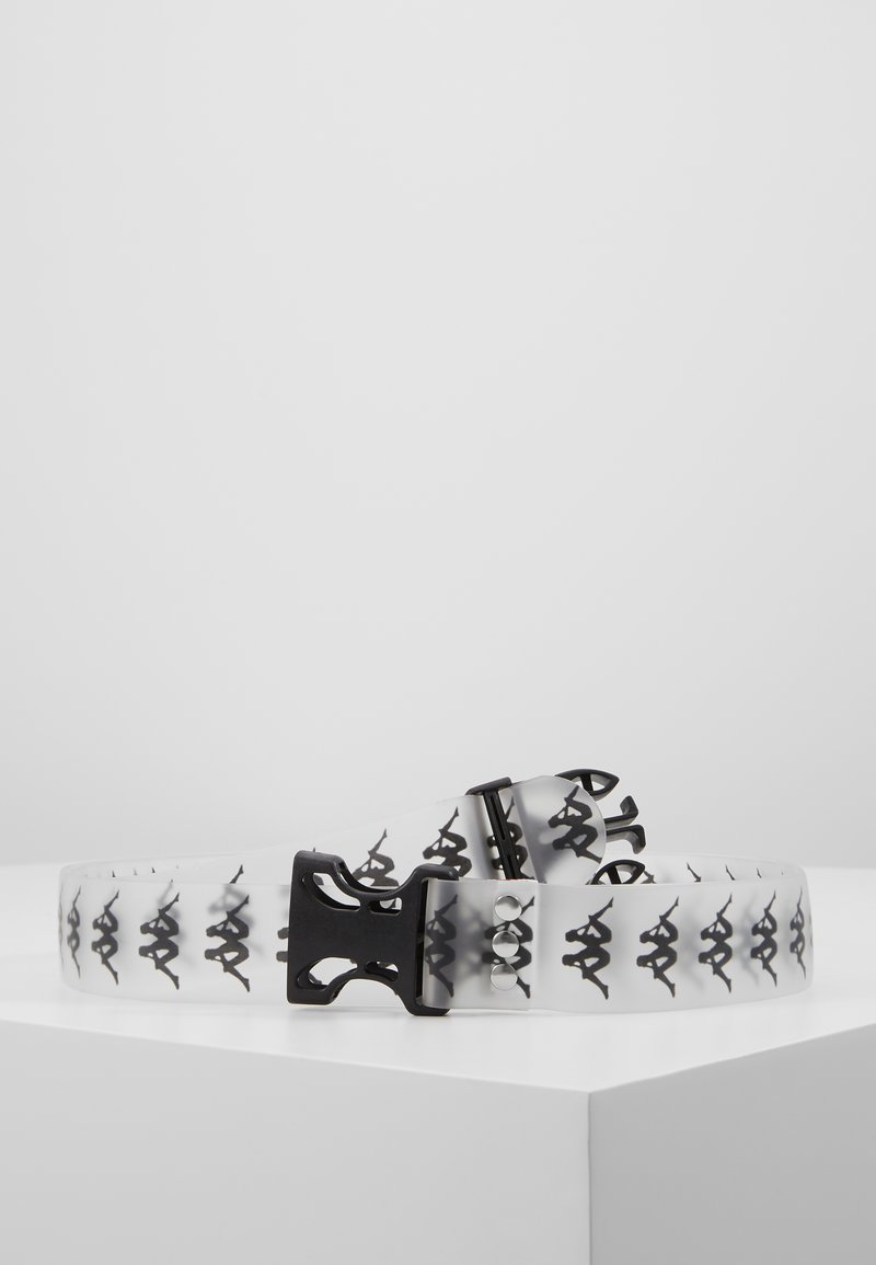 Kappa - GOMESS - Belt - transparent/black