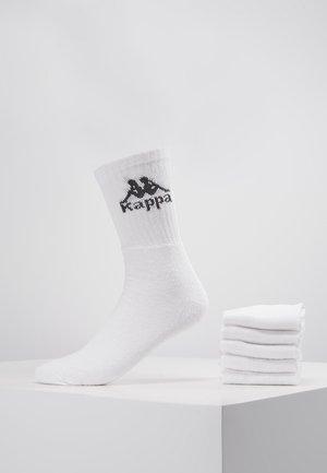 AUSTRALIEN 6 PACK - Socken - white
