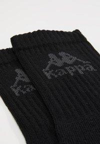 Kappa - AUSTRALIEN 6 PACK - Strumpor - black - 2