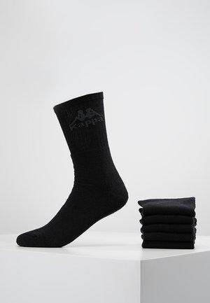 AUSTRALIEN 6 PACK - Strumpor - black
