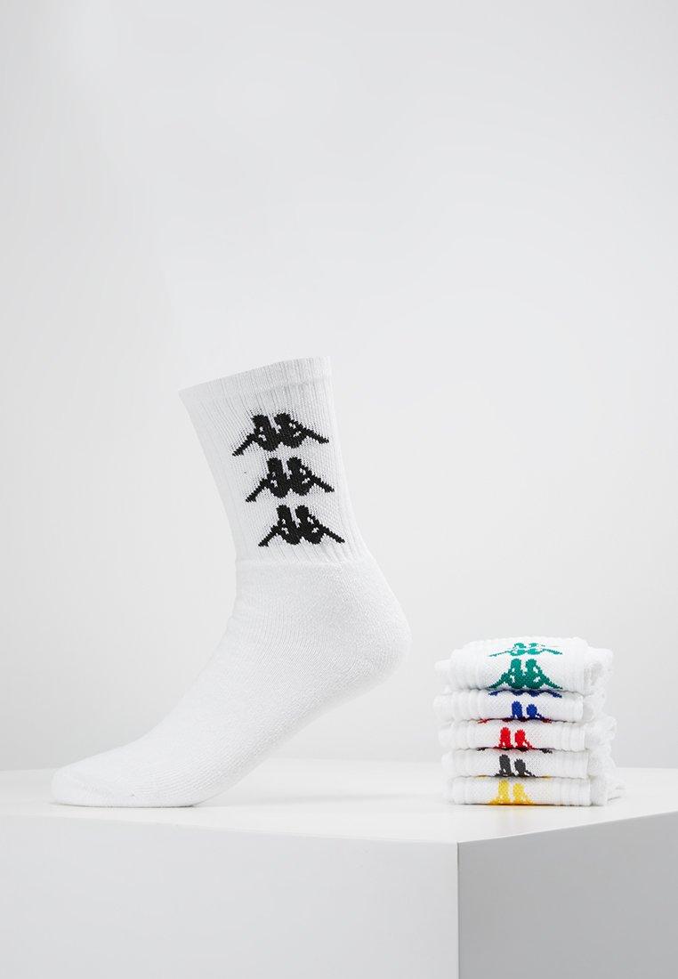 Kappa - VIOLA 6 PACK - Calze - white