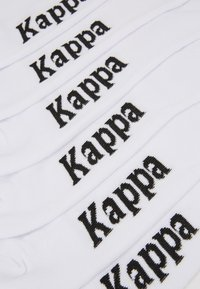 Kappa - 6 PACK - Calze - bright white - 2